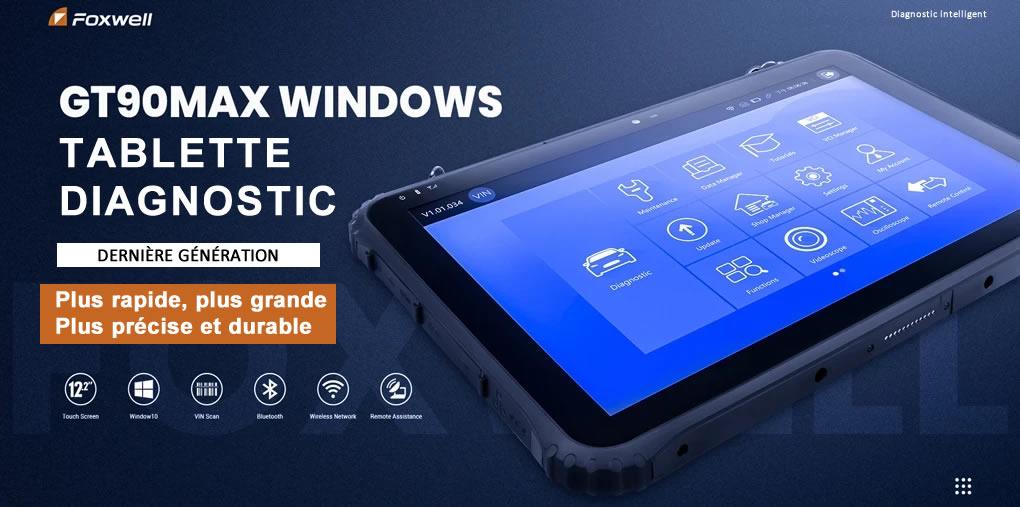 tablette-multimarque-FOXWELL-GT90Max