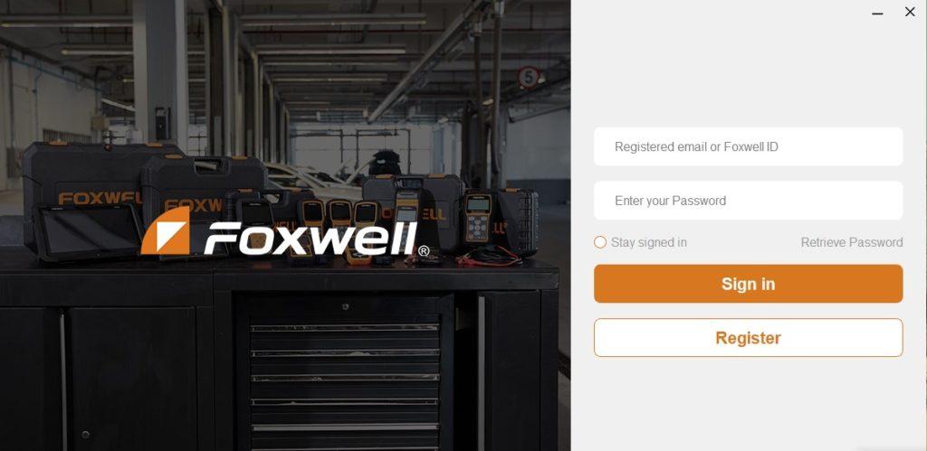FoxAssist le logiciel de mise à jour FOXWELL