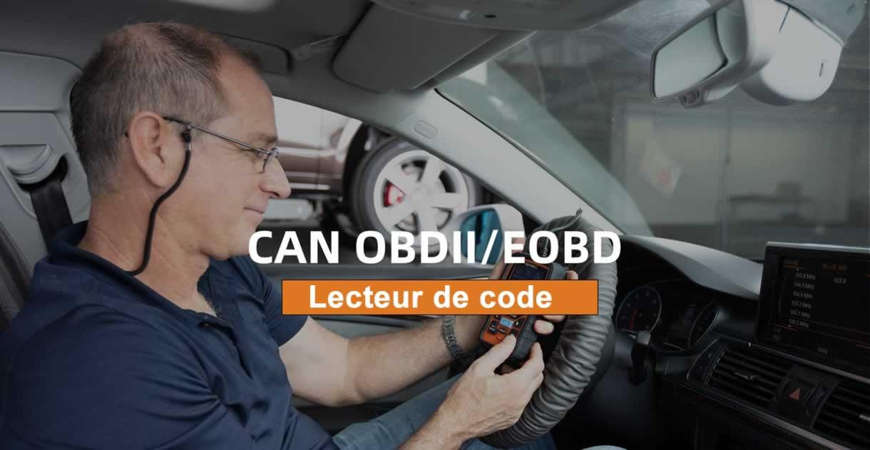 Lecteur de code OBDII FOXWELL